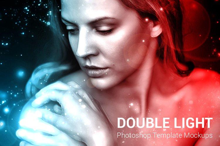 Double Light Photoshop Mock-ups example image 1