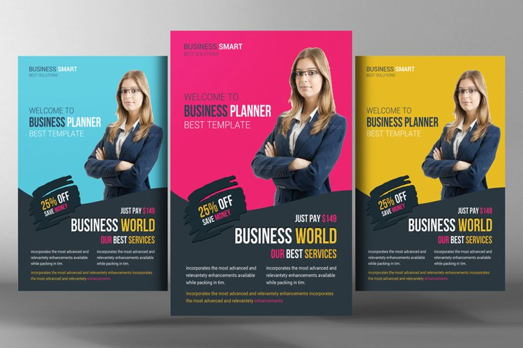 Business World Flyer Template example image 1