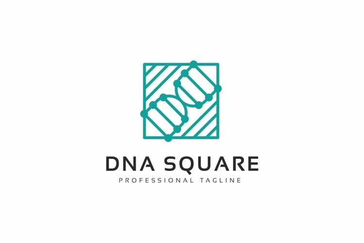 DNA Square Logo example image 1