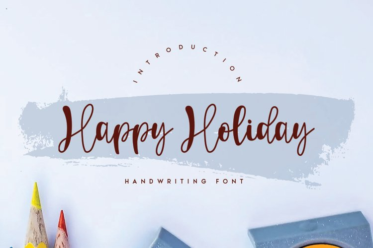 Happy Holiday example image 1