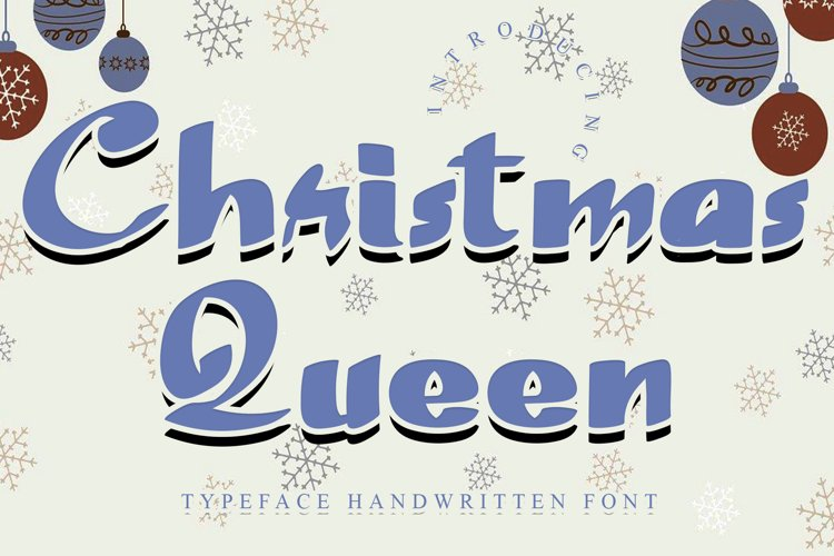Christmas Queen example image 1