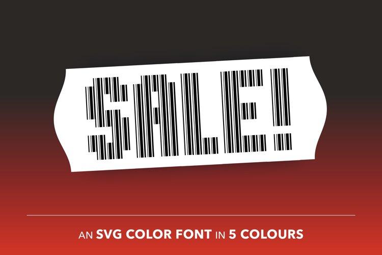 Bar Code Font example image 1