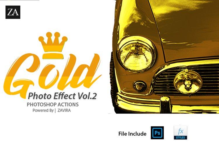 Gold Photo Manupulation Action  example image 1