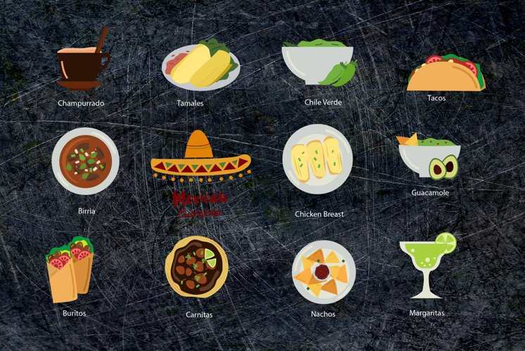 Mexican Food Clipart - Free Design of The Week Design2