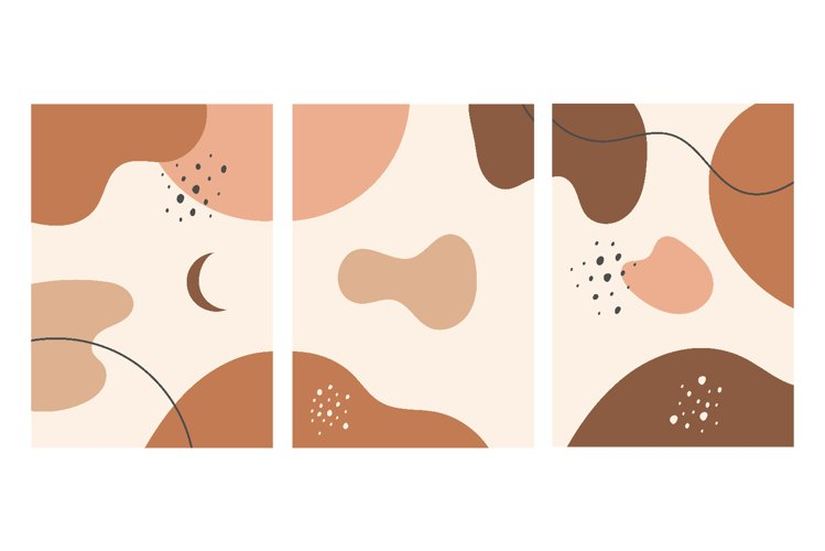 Vector collection Hand drawn of abstract backgrounds example image 1