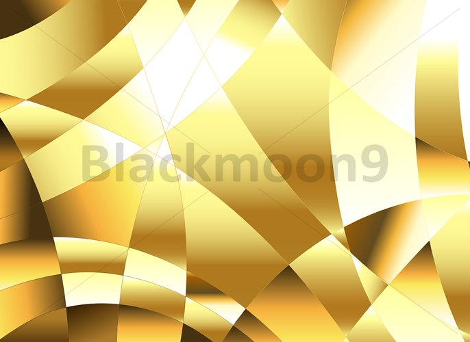 Golden Polygonal Background example image 1