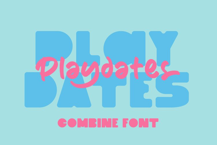 Playdates Fonts example image 1