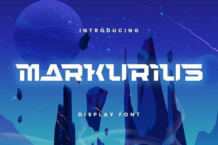Web Font Markurius Font example image 1