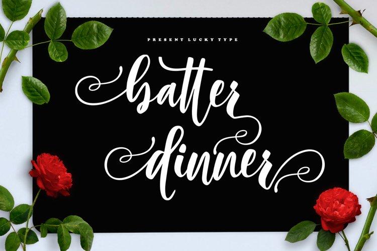 Batter Dinner Script example image 1
