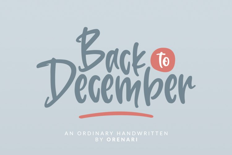 Back To December example image 1