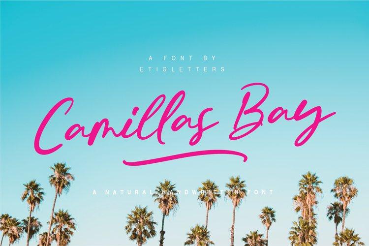 Camillas Bay Font Extras example image 1