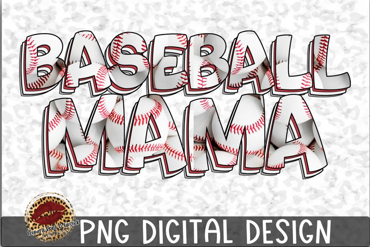 Sublimation Baseball Mama example image 1
