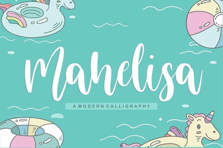 Mahelisa Modern Calligraphy Font example image 1