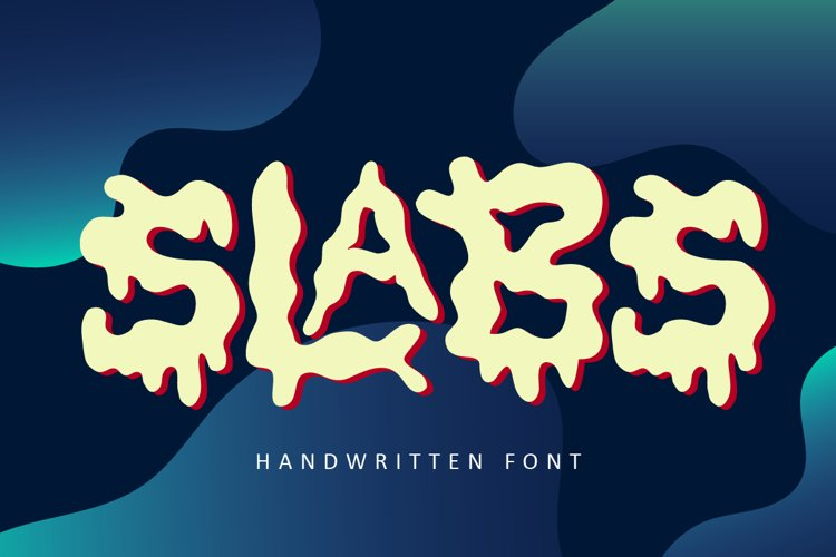 Slabs - Abstract Font example image 1