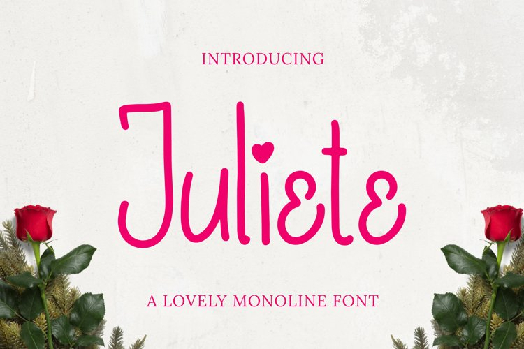 Juliete Font example image 1