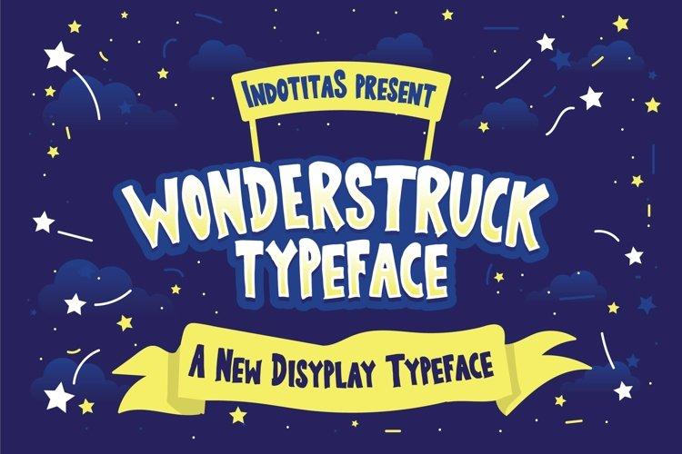 Wonderstruck Typeface example image 1