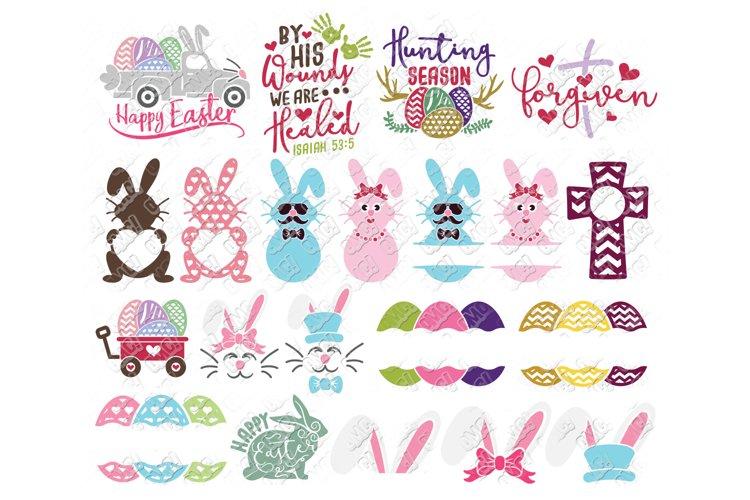 Easter SVG Bundle #2 in DXF, SVG, PNG, JPG, EPS example image 1