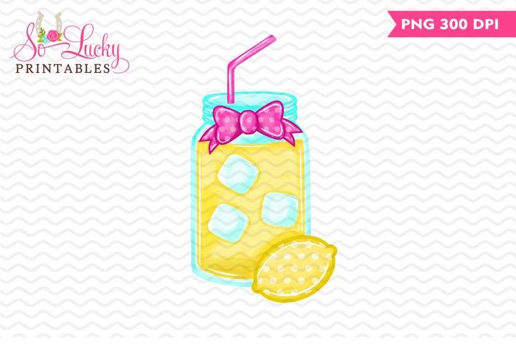 Lemonade printable sublimation design example image 1