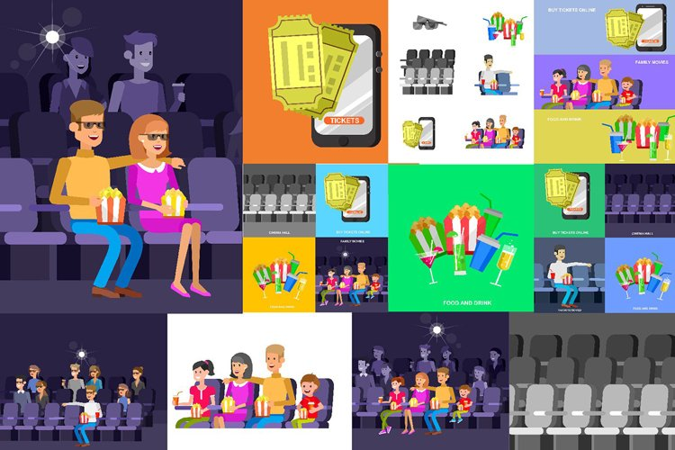 Characters people in cinema example image 1