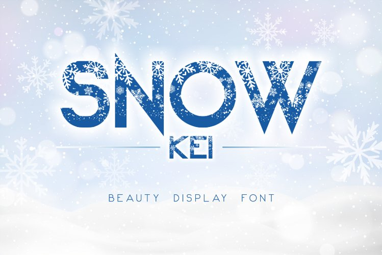 Snow Kei example image 1