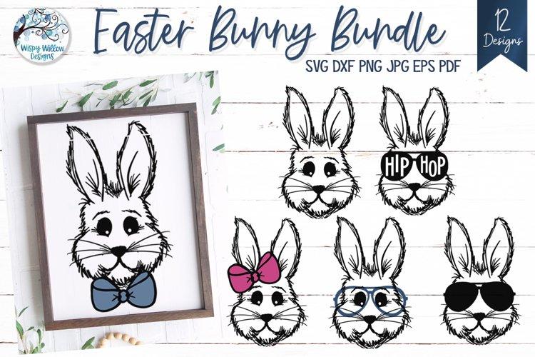 Easter Bunny SVG Bundle   12 SVGs