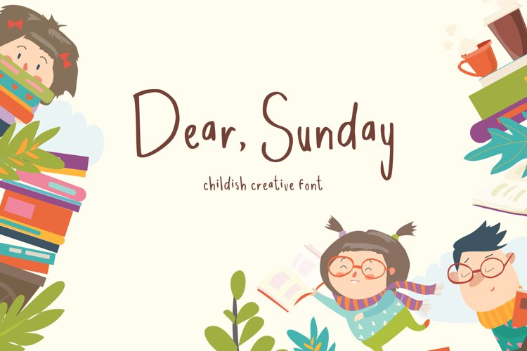Dear Sunday Kidss Display Font example image 1