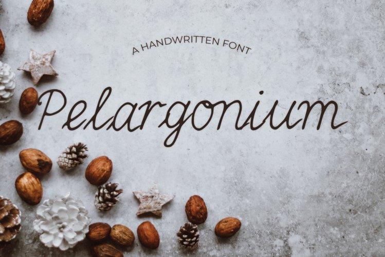 Pelargonium Font example image 1