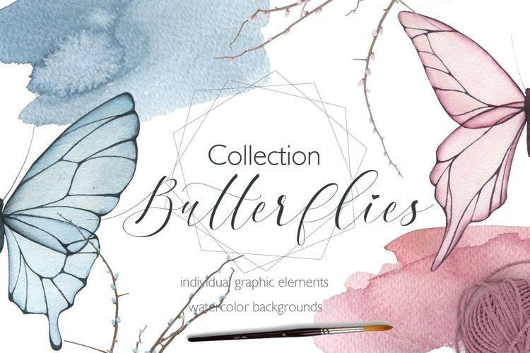Collection Butterflies