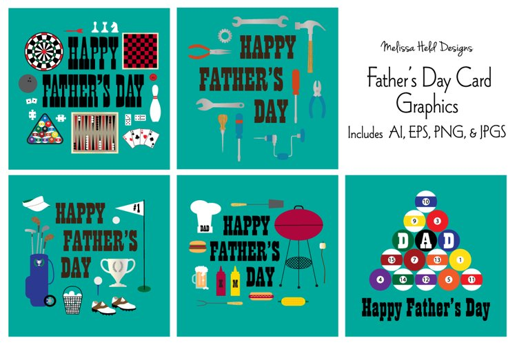 Fathers Day Card Graphics