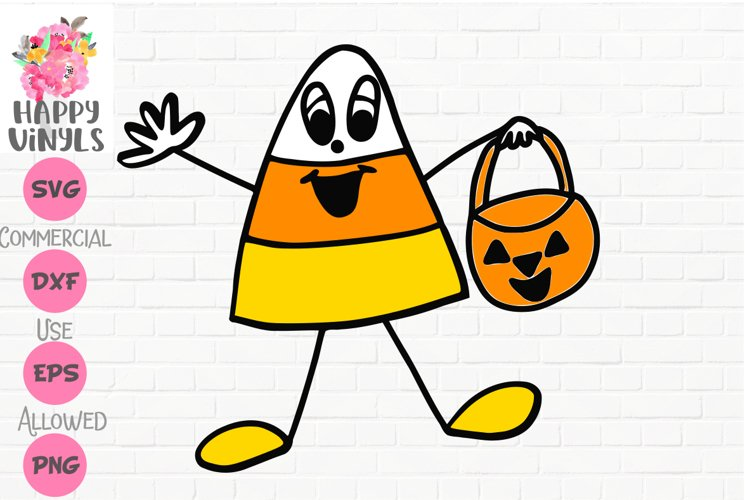 Halloween SVG Candy Corn Boy SVG Kids SVG
