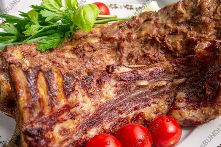 smoked pork ribs example image 1