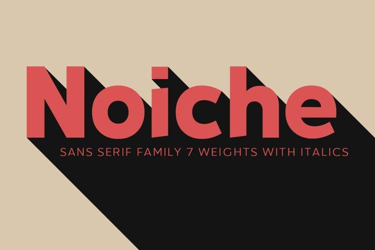 Noiche Sans Serif example image 1