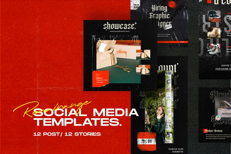 Renairange Social Media Templates