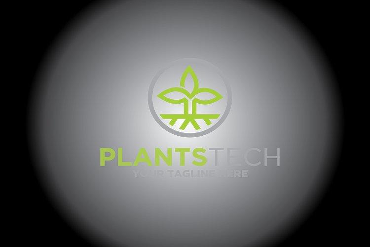 Plant Technology Logo Tree Logo example image 1