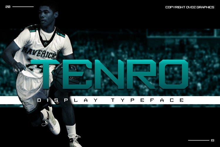 Tenro Display Font example image 1