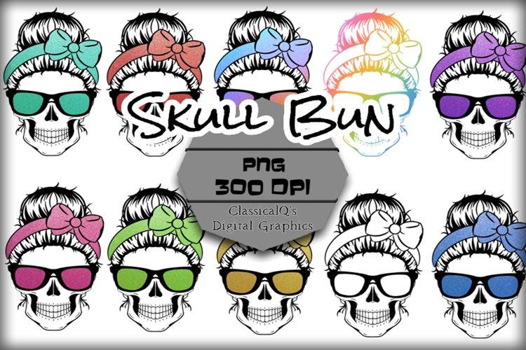Skull Bun Clip Art