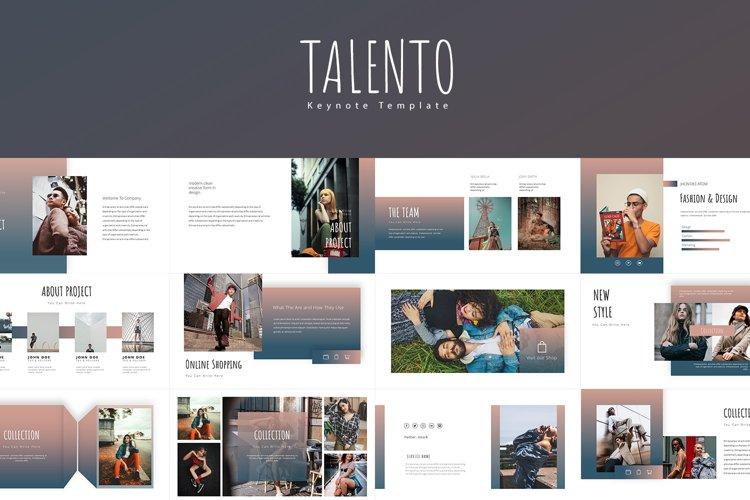 TALENTO Keynote Templates