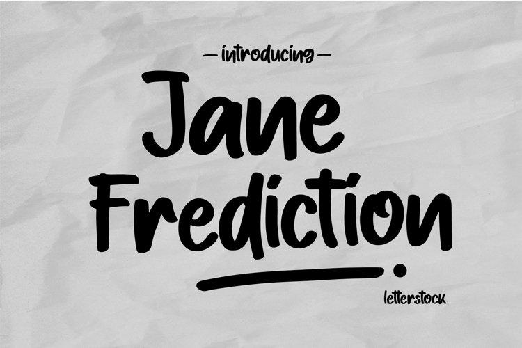 Jane Frediction example image 1