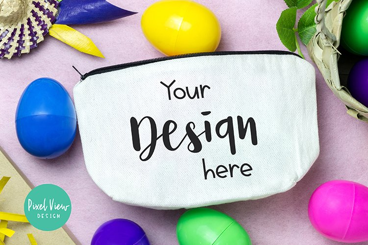Pouch Wallet Mock up| Easter