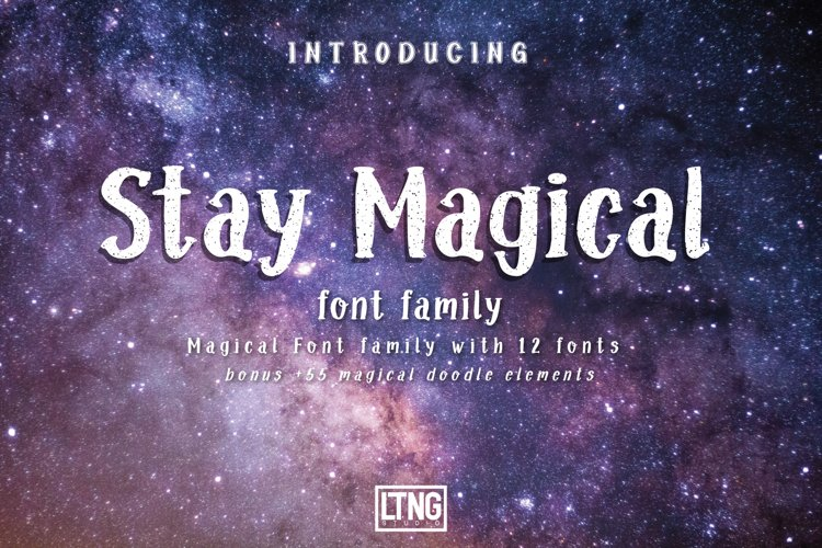 Stay Magical Font Family
