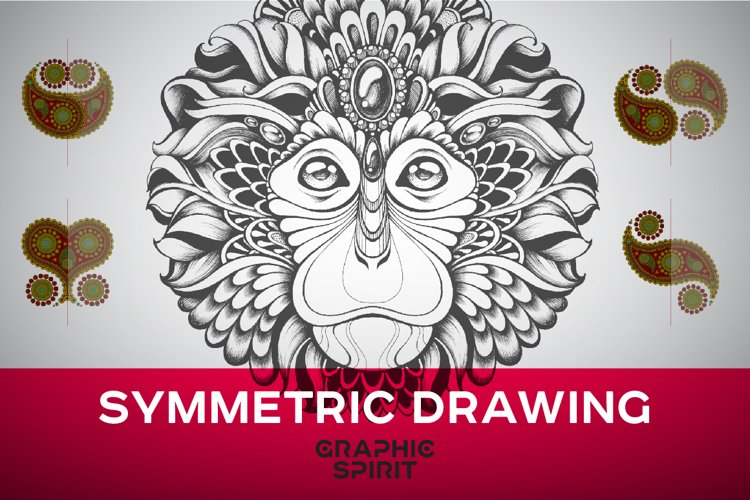 Symmetric Drawing Ai Templates example image 1