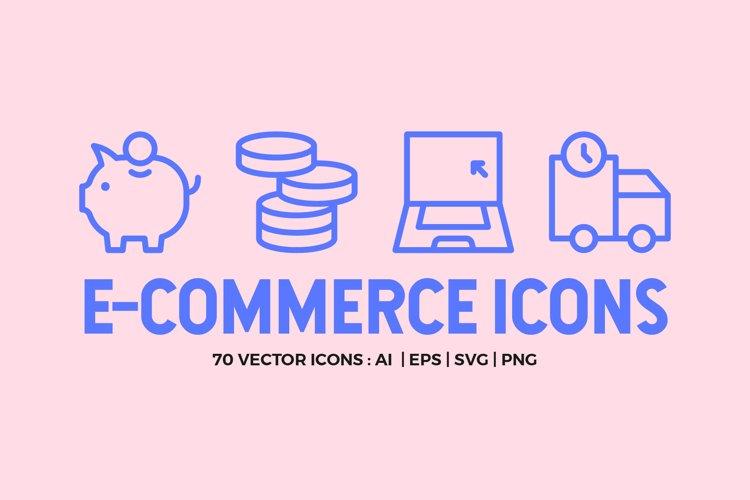 E-Commerce Line Icons
