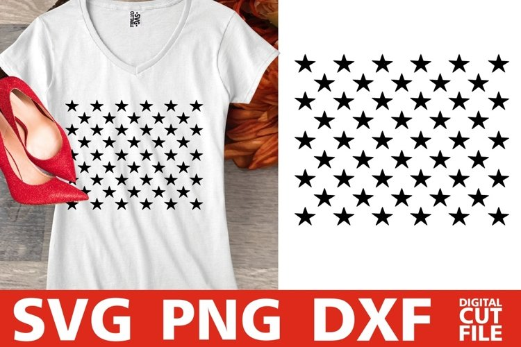50 Stars svg, 4th of July svg, Patriotic svg, America svg