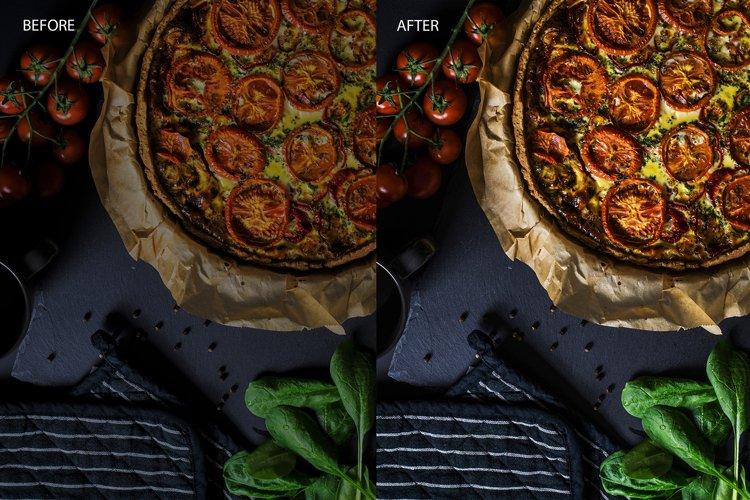 12 Desktop Lightroom Presets - Food Film example 4