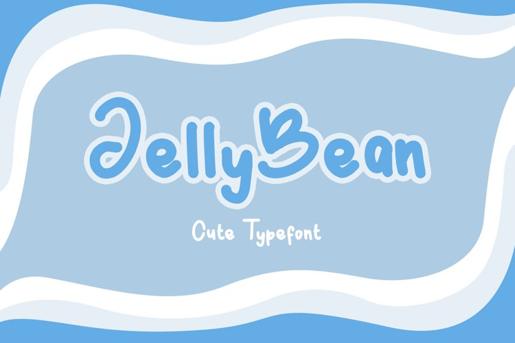 JellyBean    Cute & Playful Fonts example image 1