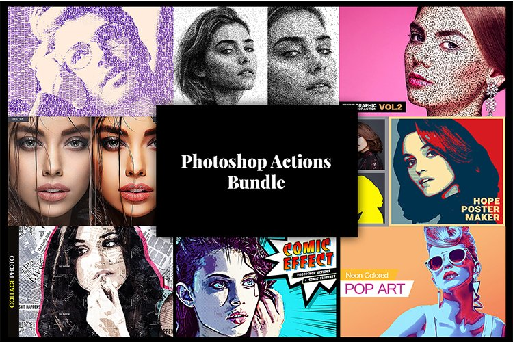 Photoshop Actions Bundle V1