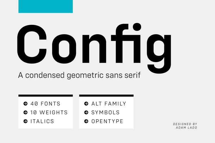 Config Complete Font Family example image 1