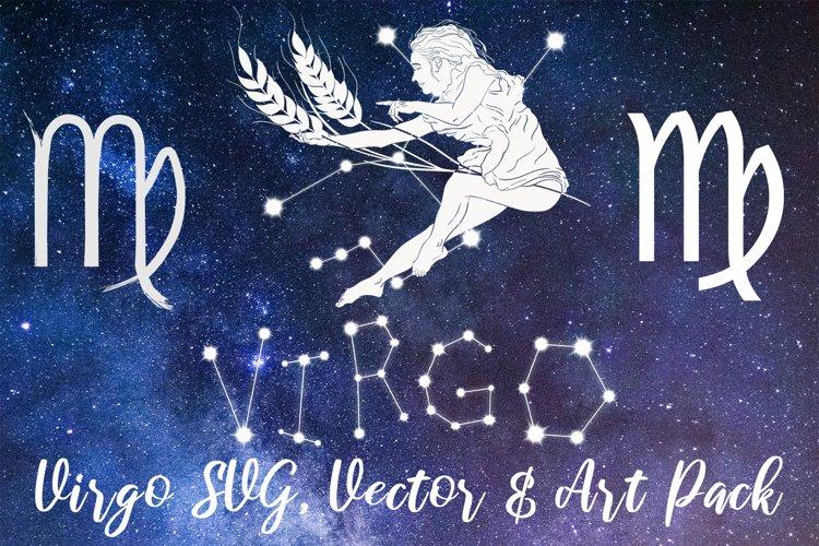 Virgo Zodiac, Constellation, Horoscope Pack example image 1