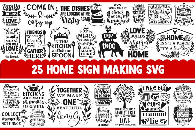 Home SVG Bundle, farmhouse svg, svg designs, sign making svg