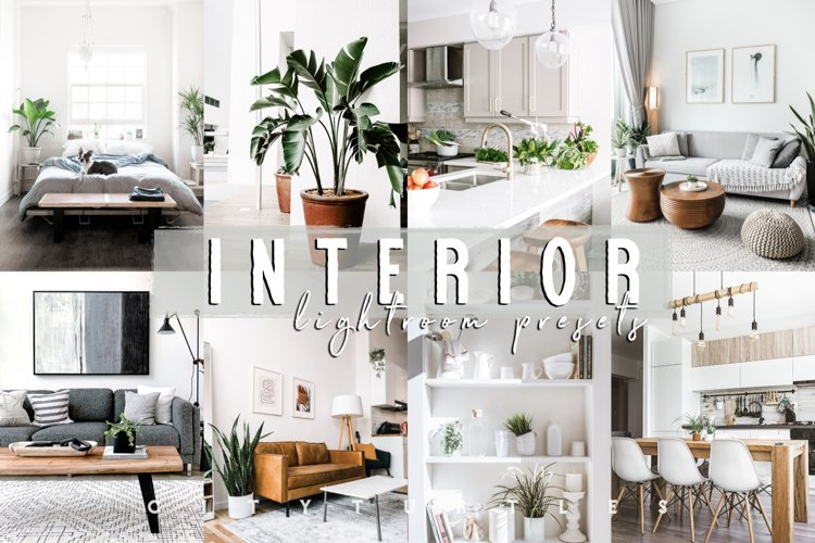 INTERIOR Professional Bright Home Real Estate Lightroom Pres